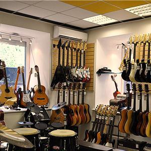 Музыкальные магазины Заозерска